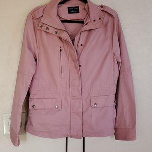 Love Tree elastic waist jacket xlarge goldpink